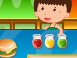 Play Fast food rush now !
