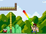 Play Super bazooka mario 2 - la vengeance now !